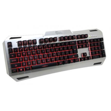 Ενσύρματο πληκτρολόγιο για Gaming SBOX - White Shark KEYBOARD GK-1623 GLADIATOR / Metalic