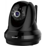 Sricam SP018BLCamera - IP Camera / Ενδοεπικοινωνία - 4 x ZOOM - 1080p - WIFI - Νυχτερινή όραση/λήψη - microSD - ΜΑΥΡΟ