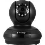 Sricam SP019BLCamera - IP Camera / Ενδοεπικοινωνία - H.264 - 1080p - ONVIF - WIFI - Νυχτερινή όραση/λήψη - microSD - ΜΑΥΡΟ