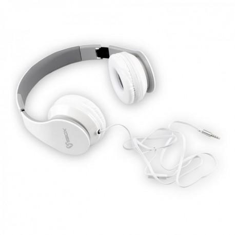 Ενσύρματα ακουστικά με μικρόφωνο HEADSET SBOX HS-501 White