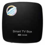 CSA96 RK3399 4G+32G Android TV Box - ΜΑΥΡΟ
