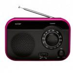 FM radio DENVER TR-55C - Μαύρο/Ροζ