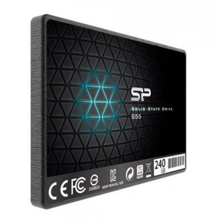 Silicon Power Slim S55 - Εσωτερικός δίσκος SSD 240GB, SLC, 560MB/s