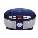 Denver TC-26C blue CD-player boombox