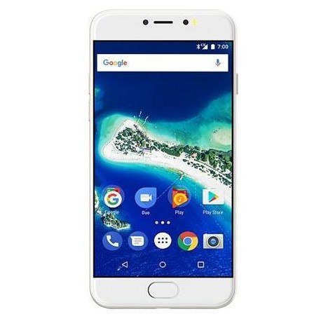 General Mobile Google AndroidOne GM 6 - 3GB/32GB - Android 7.1 – Dual Sim - White Gold