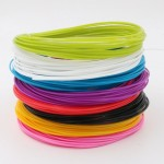 3D Pen Filament PLA διαμέτρου 1.75mm, 8 χρώματα συνολικού μήκους 80m για 3d pen