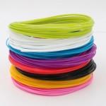 XYZ 3D Pen Filament PLA διαμέτρου 1.75mm, 8 χρώματα συνολικού μήκους 80m για 3d pen