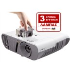 Projector Short-Throw ViewSonic PJD5553Lws - WXGA (1280x800), 3200 lumens, 22,000:1 contrast