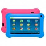 Denver android tablet για παιδιά 9'' TAQ-90062KBLUEPINK δώρο μία μπλέ θήκη και μία ρόζ από σιλικόνη