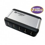 Sandberg USB Hub AluGear (7 ports) (135-59)