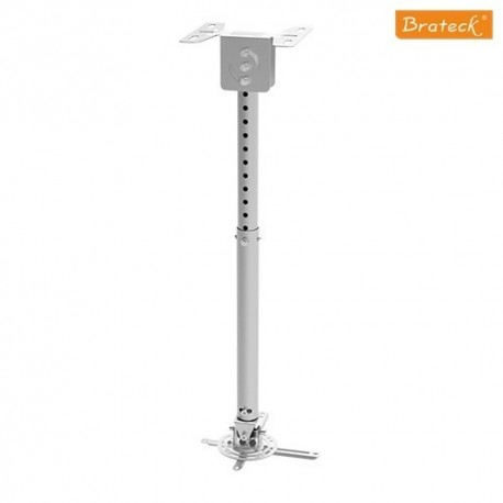 Brateck PRB-10 S Βάση στήριξης projector οροφής , Προφίλ: 575-825 mm