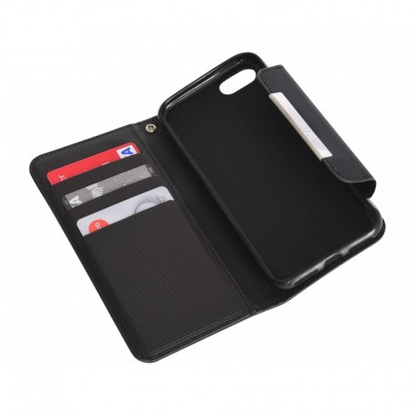 Sandberg Flip wallet iPhone 7 Blackskin (405-66)
