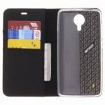 Accezz Booklet Wallet Black General Mobile GM5