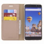 Accezz Booklet Wallet Gold General Mobile GM5 Plus