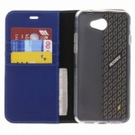 Accezz Booklet Wallet Blue General Mobile GM6
