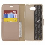 Accezz Booklet Wallet Gold General Mobile GM6