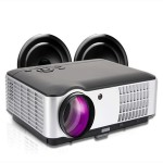 RD-806A MEDIA PLAYER HD 1080P LED Portable Projector 1280x800 2800 Lumens HDMI VGA Home Theater