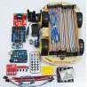 Arduino αυτοκινητάκι - Arduino car tracing obstacle advance 4WD