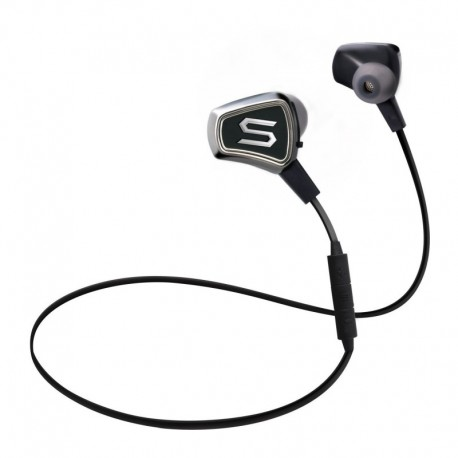 Soul Impact wireless black - Sports Bluetooth Headphones ,Watersafe