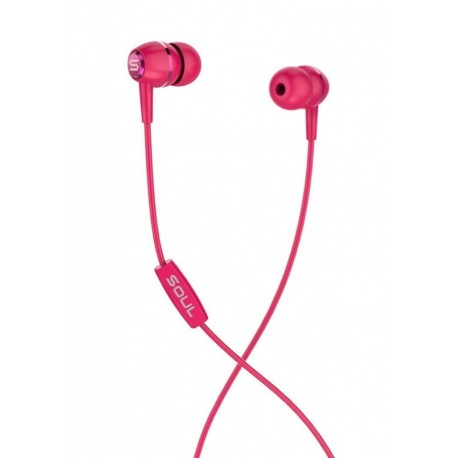 SOUL LIT RED high performance wired earphones