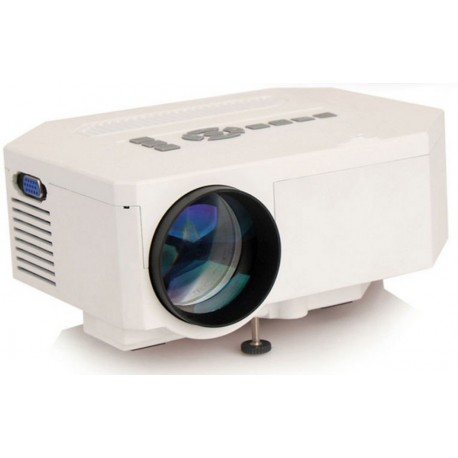 Φορητός Προβολέας UC30 - Mini Led Projector - HDMI - VGA - USB - AV - SD - 640x480 -  600 Lumens