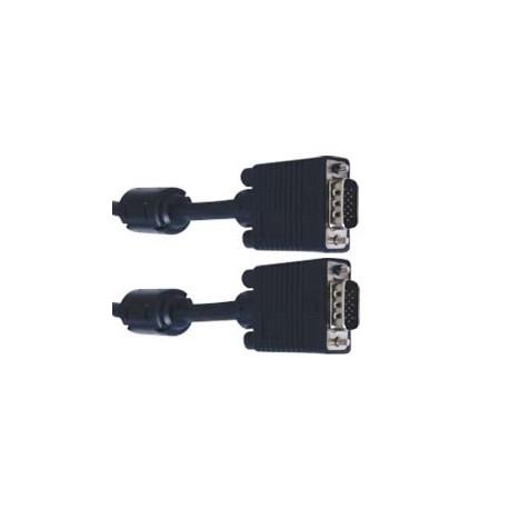 Καλώδιο MrCable SVGA - HDB15M/HDB15M - Με 2xΦερρίτες - 10 μέτρα