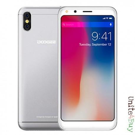 Doogee X53 SILVER 5.3'' 18:9 Full Screen, 16GB, 3G smartphone