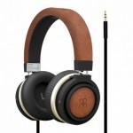 Promate Boom Ενσύρματα Ακουστικά Κεφαλής Κλειστού Τύπου με Dynamic Hi-Fi Stereo - Καφέ