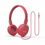 Promate Soul Ενσύρματα Ακουστικά Κεφαλής Ανοικτού Τύπου για Παιδιά (4+ ετών) - Ροζ