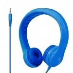 Promate Flexure Υπερευλύγιστα Ακουστικά Κεφαλής Ανοικτού Τύπου για Παιδιά (4+ ετών) - Μπλε
