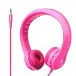 Promate Flexure Υπερευλύγιστα Ακουστικά Κεφαλής Ανοικτού Τύπου για Παιδιά (4+ ετών) - Ροζ