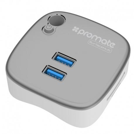 Promate surfaceHub Βάση με 2x Θύρες USB 3.0 - 1x Θύρα RJ45 - 1x Θύρα/MicroSD