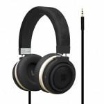 Promate Boom Ενσύρματα Ακουστικά Κεφαλής Κλειστού Τύπου με Dynamic Hi-Fi Stereo - Μαύρα