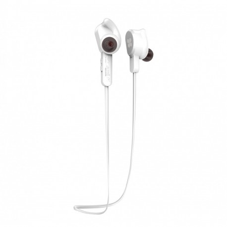 dc20f407fd Promate Vitally-2 Ασύρματα Μαγνητικά Στερεοφωνικά Bluetooth v4.1 Ακουστικά  Ψείρες - Λευκό