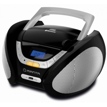 Manta BBX003 BOOMBOX CD-Radio, BT,MP3,USB, FM Digital