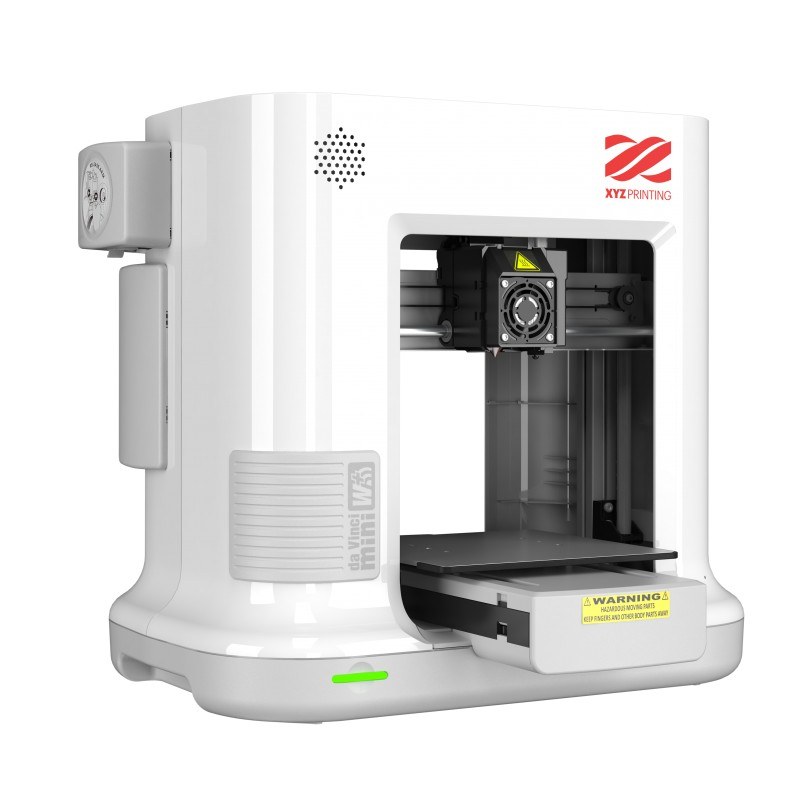 XYZprinting da Vinci Mini W+ (white), WiFi 3D Printer - B2B Conceptum