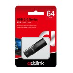Addlink 64GB USB Flash Drive (USB 3.0 /Black) ( ad64GBU55B3 )