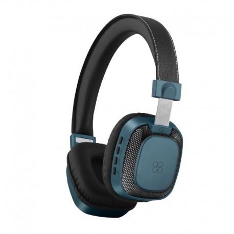 Promate Melody-Bt Ασύρματα Στερεοφωνικά Ακουστικά - Μπλέ