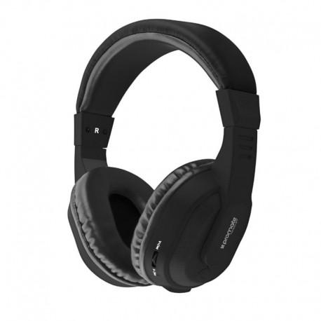 Promate Tempo-Bt Ασύρματα Στερεοφωνικά Ακουστικά - Μαύρα