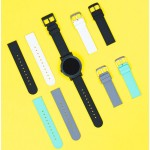 Ticwatch E leather strap black