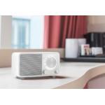 Sangean WR-7 Matt White  - Ραδιόφωνο Bluetooth με ξύλινη καμπίνα