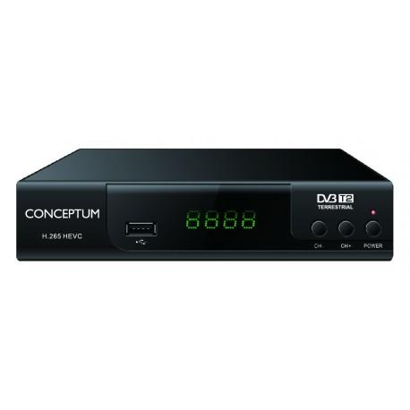 CONCEPTUM Αποκωδικοποιητής TV DVB-T2 H.265