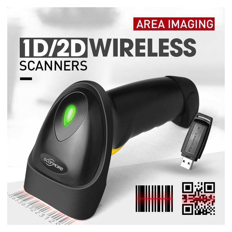 CONCEPTUM SCANMORE SM202Y 2D Wireless Barcode Scanner - B2B