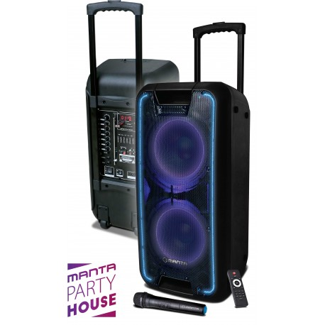 Manta SPK5027 NERIO Karaoke Party Speaker 80W