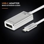 CABLETIME USB C HUB, Premium USB C to USB 3.0 HUB, 3 port+ USB C PD, Adapter (CT-C160-PU33-HUB31C-s0.15)