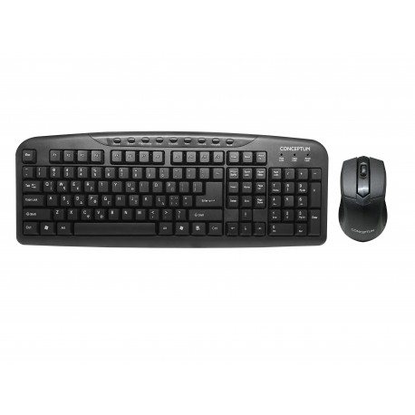 CONCEPTUM  CB401GR  Wired keyboard & mouse combo