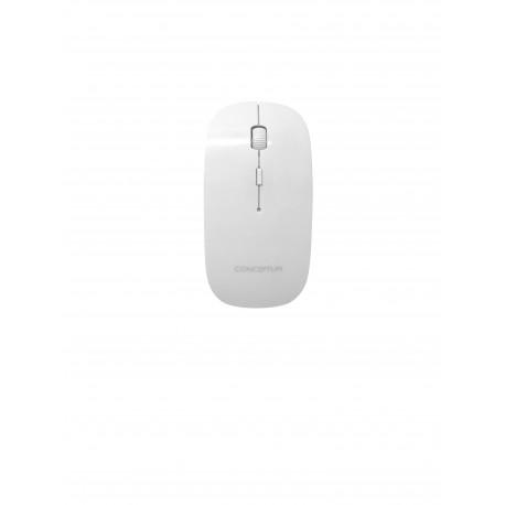 CONCEPTUM WM504WH - 2.4G Wireless mouse with nano receiver - White