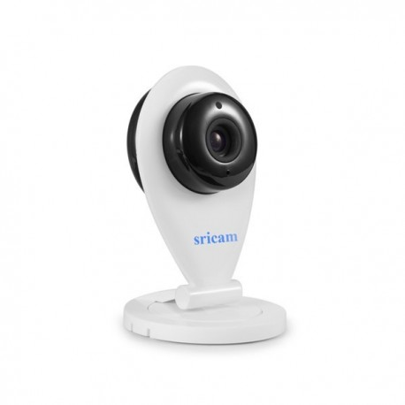 Sricam SP009 WH Μίνι κάμερα WIFI, ιδανική για ενδοεπικοινωνία, Ανάλυση 720P,νυχτερινή λήψη 8pcs IR