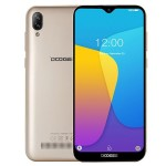 Doogee X90 6.1'' Full Screen  Quad Core, Dual Camera, Gold