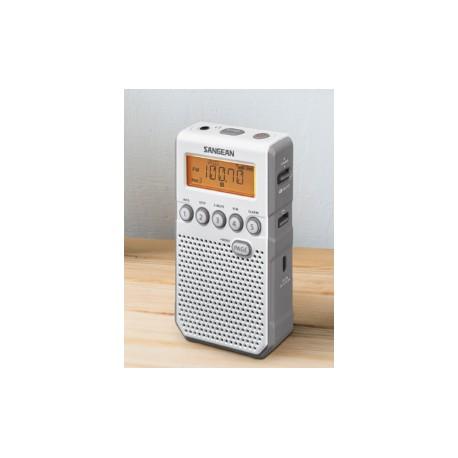 Sangean DT-120 WHITE - Φορητό Ραδιόφωνο